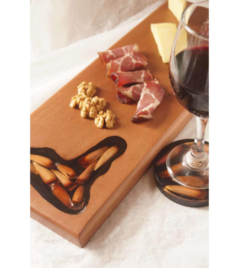 Tabla De Cocktail Piñones