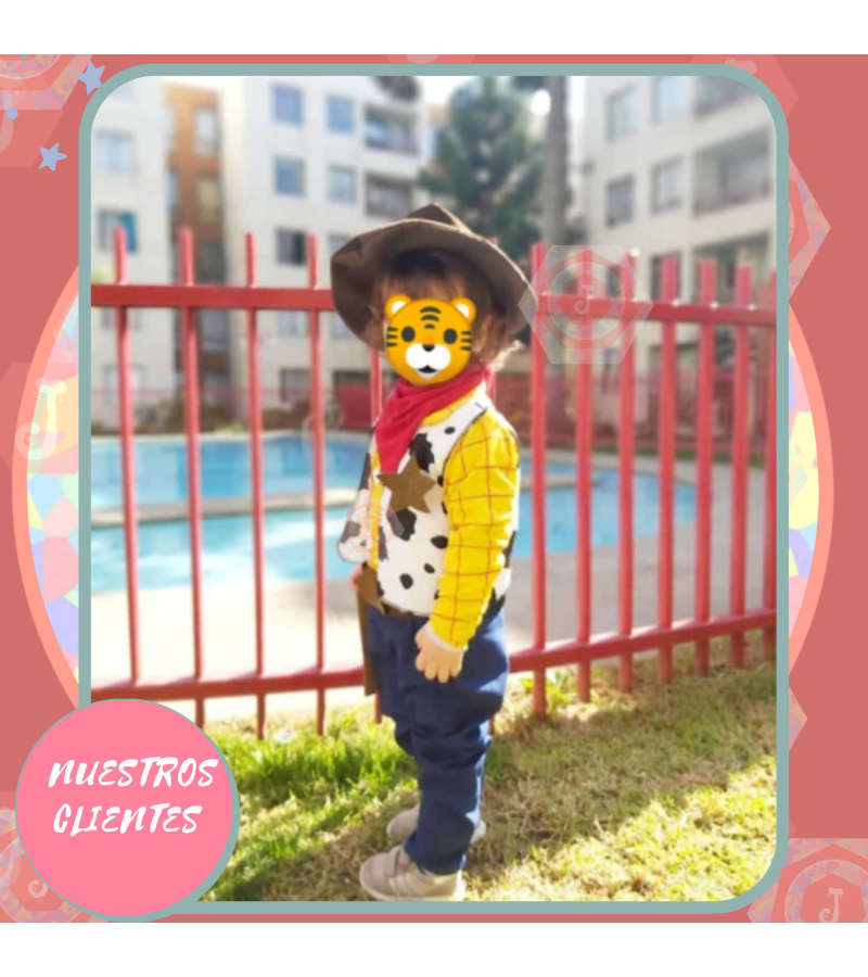 Disfraz Toy Story, Woody, Día Del Niño