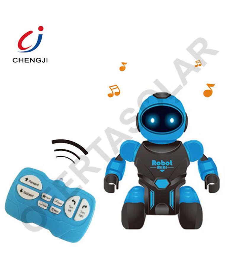 Robot Control Remoto Funny Box Chengji, Color Azul Para Niños 6 Años