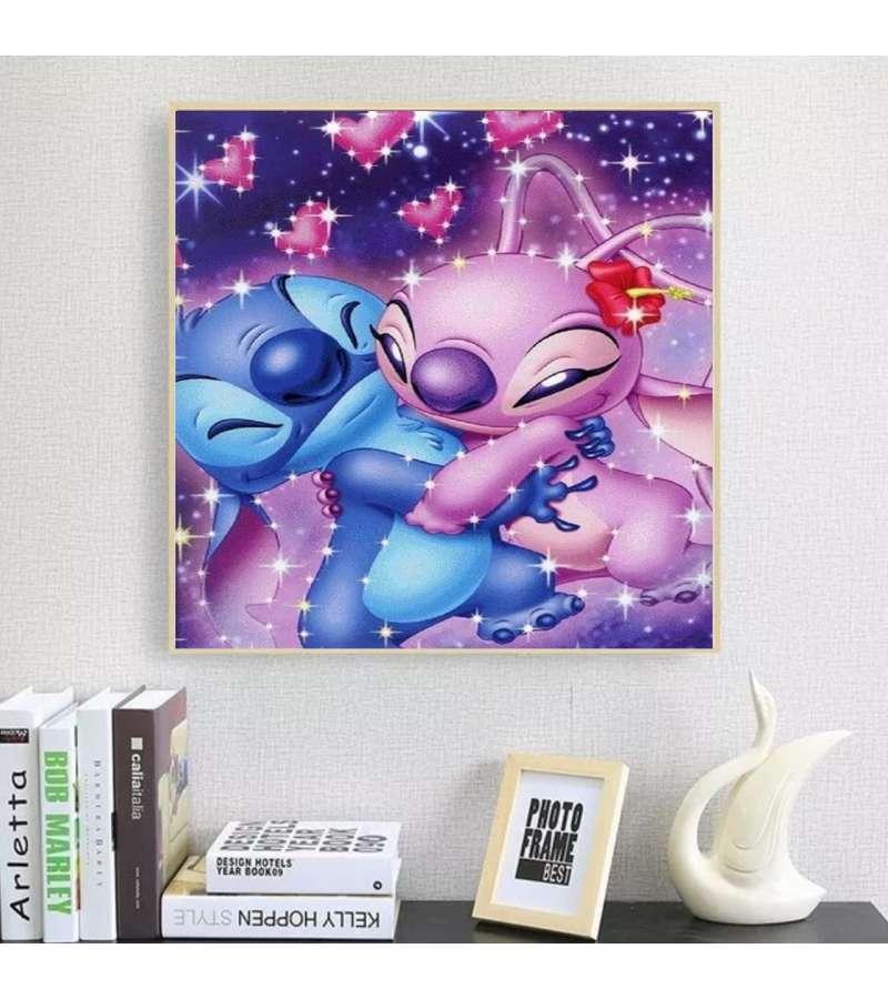 Pintura De Diamantes Diamond Painting Stitch Love 30x30 Cms