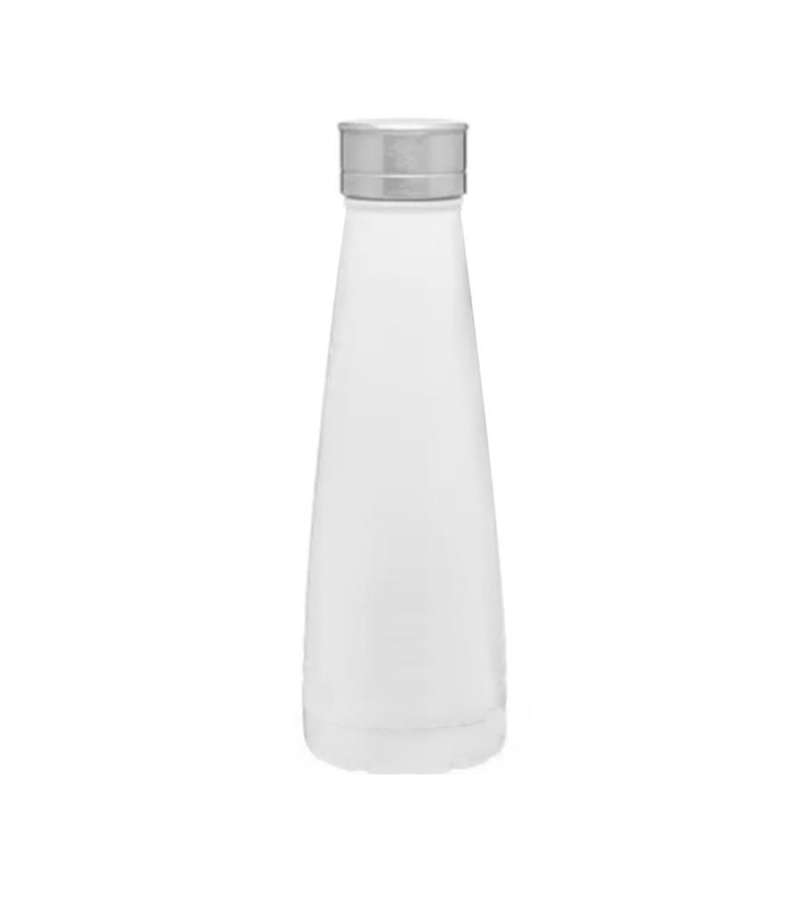 Botella Reutilizable Térmica De Acero Inoxidable Blanca