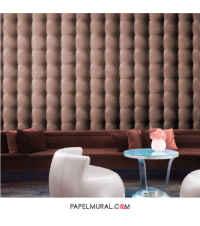 Papel Mural Textura Capitoné | Skin