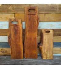 Tabla parrillera madera Rauli Hualle 1mt