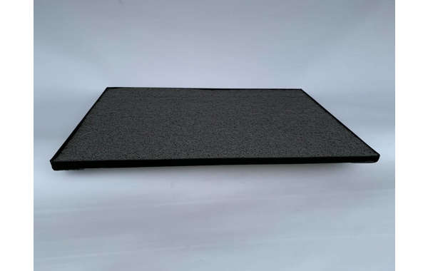 Sanitizador de Calzado, Pediluvio M 60X40 Metálico color negro