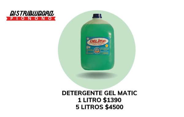 Detergente gel matic