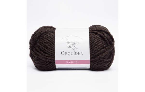 Lana Orquídea - Clásica XL 100 Grs - Color Café Moro 546