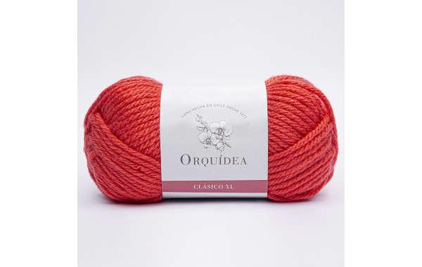 Lana Orquídea - Clásica XL 100 Grs - Color Coral 545