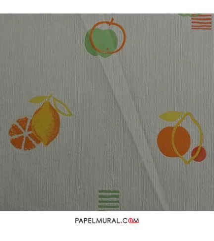 Papel Mural Diseño Frutas | Texturi Trends