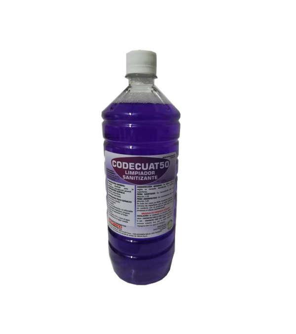 Limpiador Sanitizante Codecuat50 Formato 1 Litro