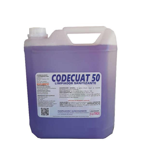 Limpiador Sanitizante Codecuat50 Formato 5 Litros