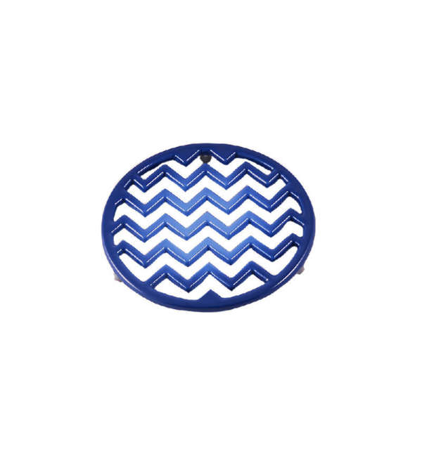 Posa Olla Circular Hierro - Azul