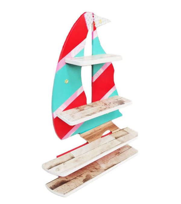 Repisa Barco Rojo&Calipso