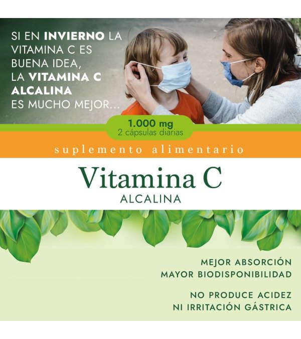 Vitamina C Alcalina 1.000 Mg.
