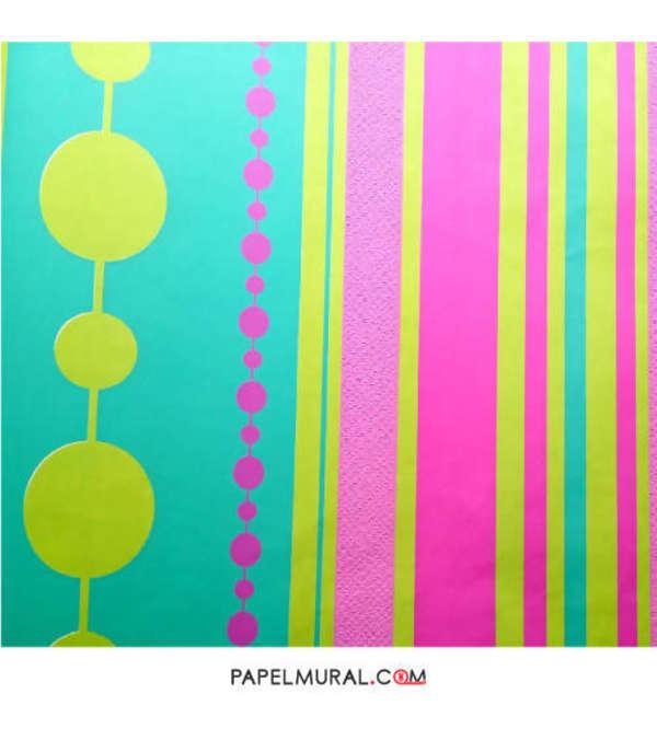 Papel Mural Diseño Colores | Alice Whow