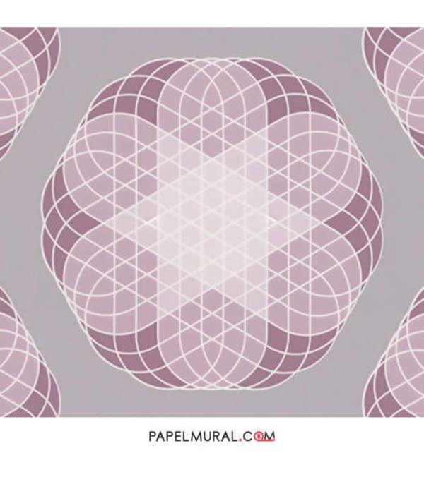 Papel Mural Patrón Geométrico | Contzen Paper