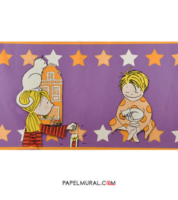 Papel Mural Guarda Infantil Niños | Manekin
