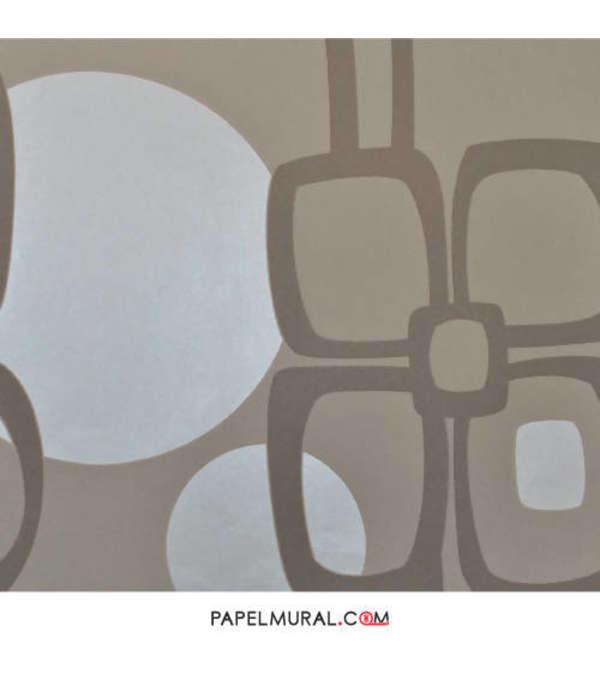 Papel Mural Diseño Abstracto Beige | Saphyr