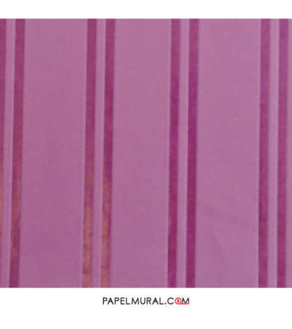 Papel Mural Lineas Moradas | Flock ll