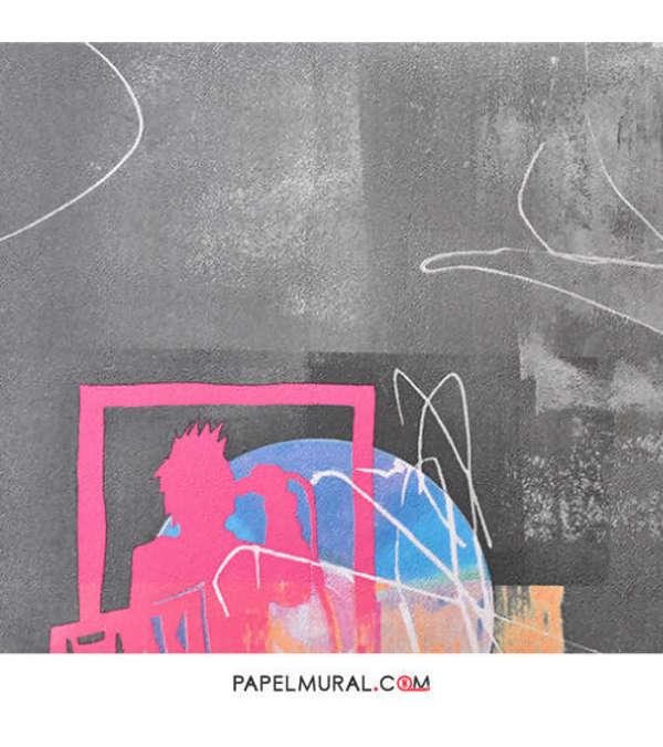 Papel Mural Textura Gris | FOR KIDS