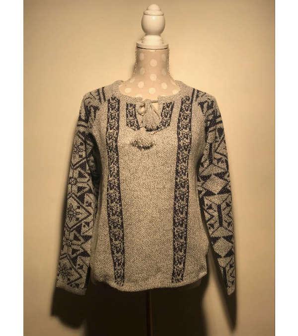 Sweters lana étnico
