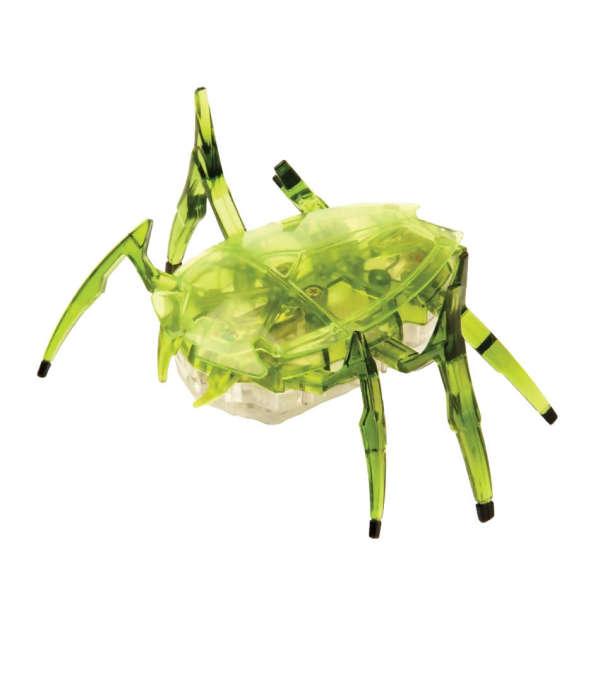 Bicho robótico escarabajo color verde