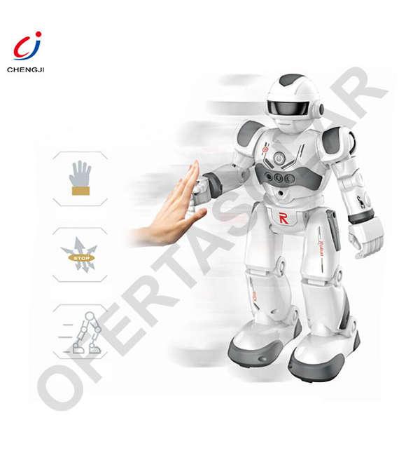 Robot Control Remoto Lezo Toys Chengji, para niños 3 años