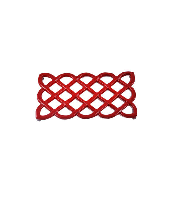 Posa Ollas Rectangular - Roja