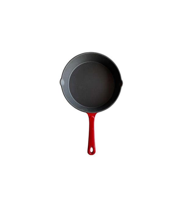 Sarten Hierro 25cm - Rojo
