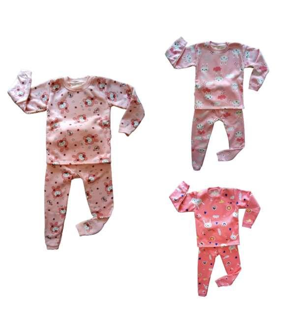 Pijamas Térmico Niñas - Tallas 6 a 9 años