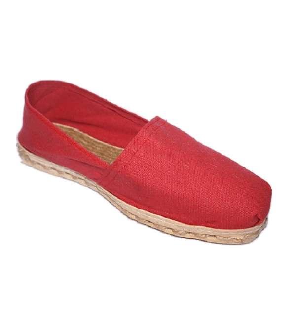 Alpargatas Iberia - Color Rojo - Tallas del 34 al 39