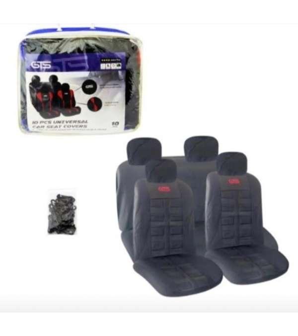 Fundas asiento auto modelo GTS 10 piezas