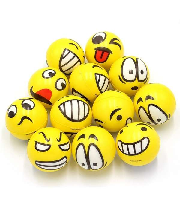 Pelota de Espuma Emoji
