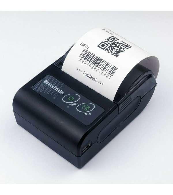 Impresora térmica Portátil 58mm Bluetooth (compatible app e-boleta SII)