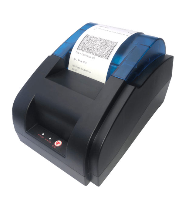 Impresora térmica desktop 58mm Bluetooth (compatible app e-boleta SII)