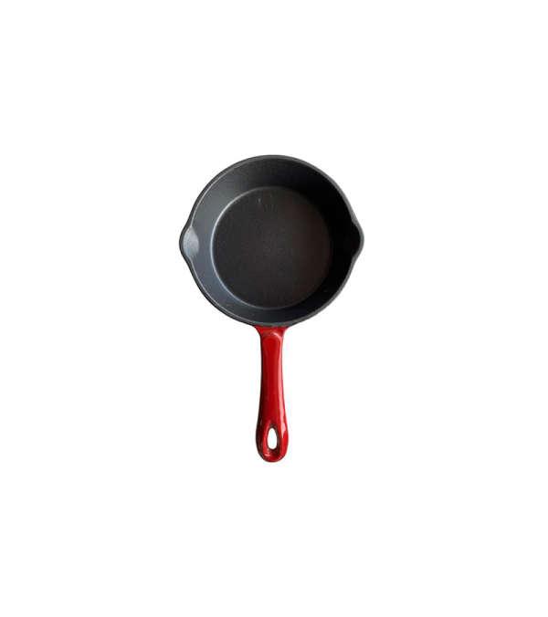 Sartén Hierro Fundido 17cm- Rojo