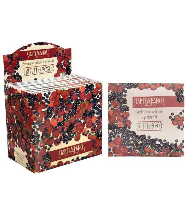 Caja De 12 Sobres Sachet Con Aroma Berries