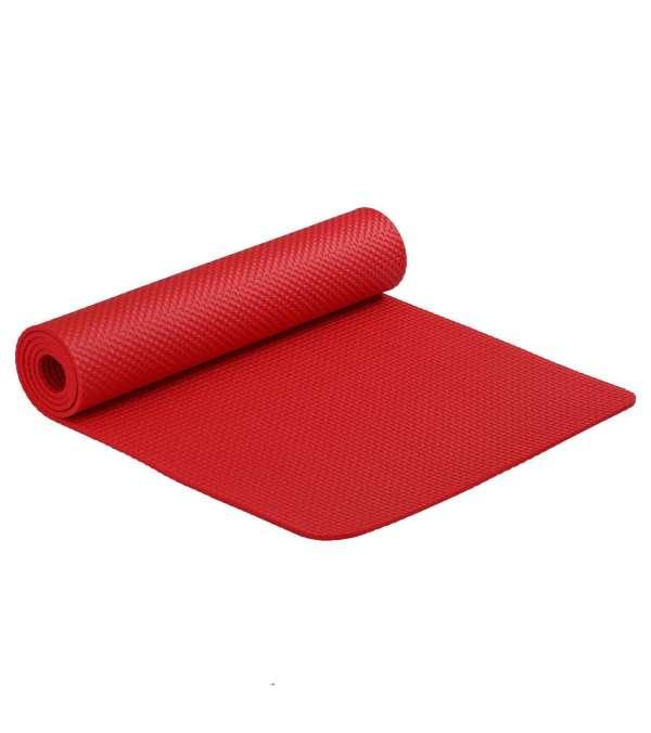 Mat Yoga Pilates Colchoneta De Ejercicio 6 mm Rojo