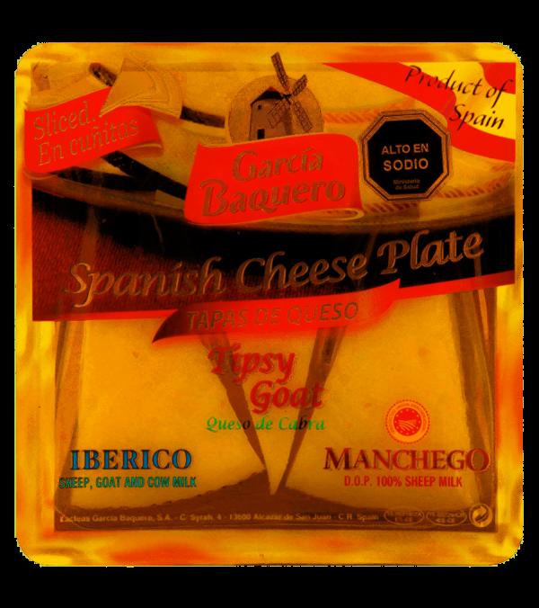 Tabla tres quesos García Baquero