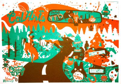 CalArts poster: 2006 CalArts Graphic Design by Ed Fella Harmen Liemburg