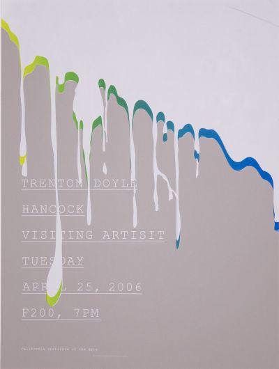 CalArts poster: Trenton Doyle by Ching Wang Leslie Sun