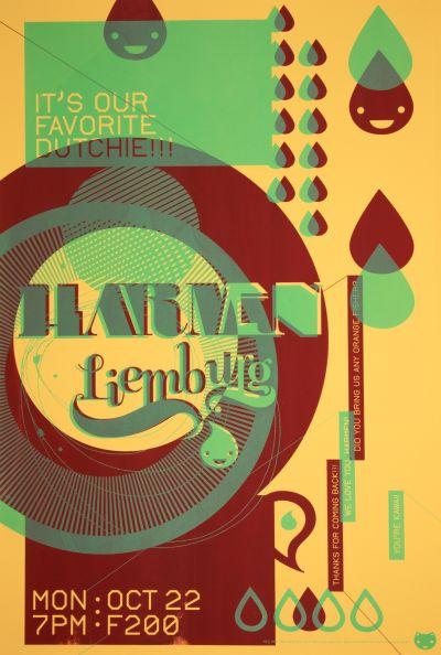 CalArts poster: Harmen Liemburg by Stephanie Chen