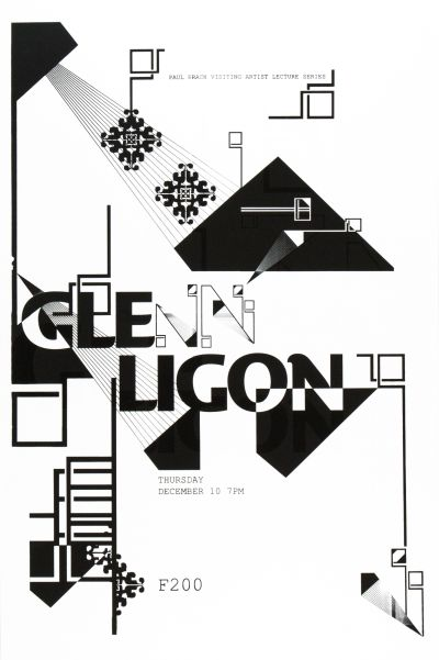 CalArts poster: Glenn Ligon by Aastha Gaur Megan Lynch