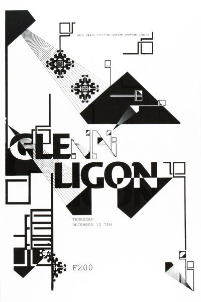 CalArts poster: Glenn Ligon by Aastha Gaur