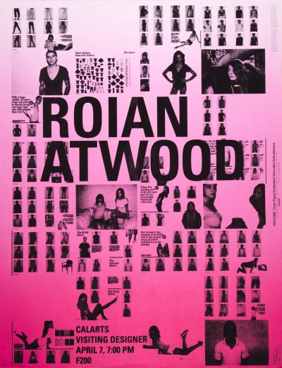 CalArts poster: Roian Atwood by Devin Dailey