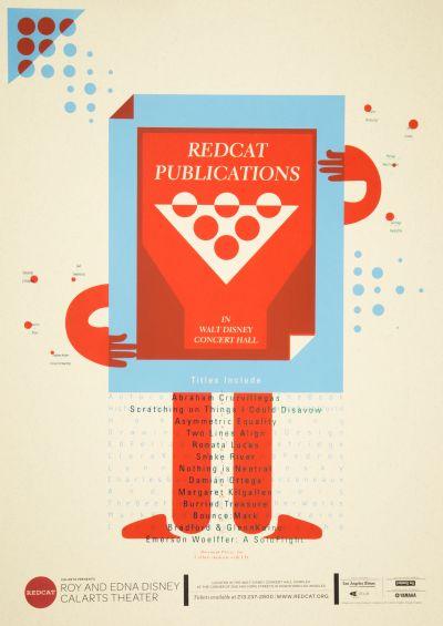 CalArts poster: REDCAT: REDCAT Publications by Masato Nakada