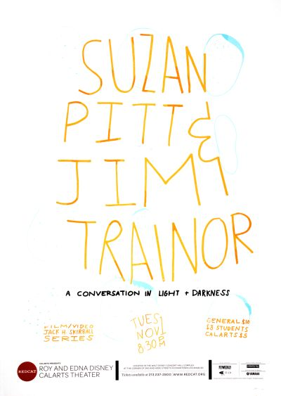 CalArts poster: REDCAT: Suzan Pitt & Jim Trainor by Matthew King Tiffanie Tran