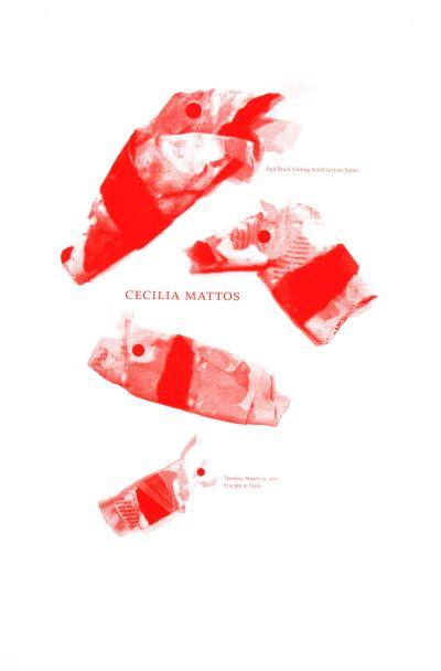 CalArts poster: Cecilia Mattos by