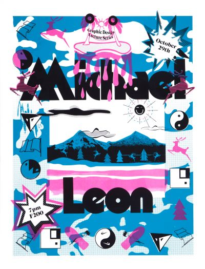 CalArts poster: Michael Leon by Alex Pines Sarah Faith Gottesdiener
