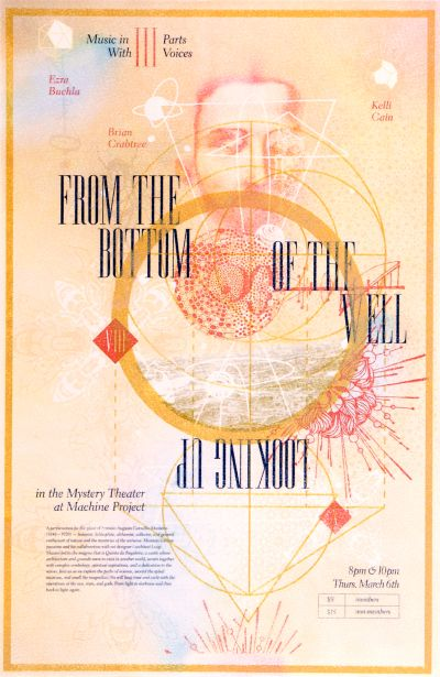 CalArts poster: From the Bottom of the Well by Cindi Kusuda Kat Catmur Lily Sin
