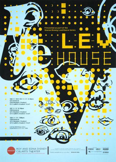 CalArts poster: REDCAT: Lev House by Karen Hong Kennis Wong